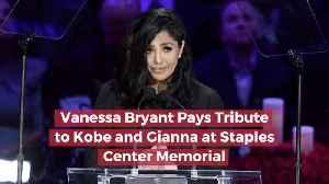 Vanessa Bryant Has A Staples Center Memorial [Video]