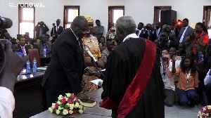 Rebel leader in South Sudan sworn in as vice president of government meant to end war [Video]