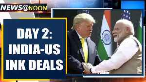 Trump-Modi hold bilateral; Delhi remains tense day after violence| Oneindia News [Video]