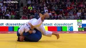 Continued Georgian & Japanese judoka success at Düsseldorf [Video]