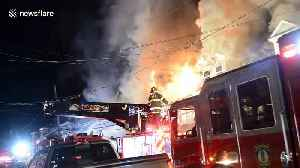 At least 15 displaced after seven homes destroyed in fire in Shamokin, Pennsylvania [Video]