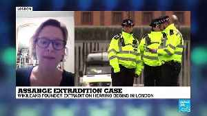 Dr. Anna Bradshaw comments on Assange's extradition case on France 24 [Video]