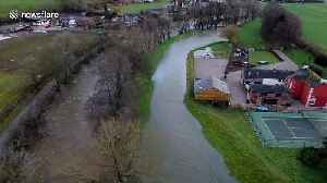 Drone footage shows extent of flooding in Cumbria, UK [Video]