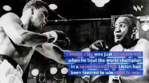 This Day in History: Young Muhammad Ali Knocks out Sonny Liston for First World Title [Video]