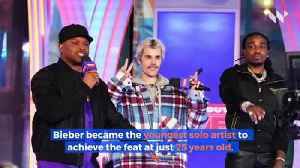 Justin Bieber Lands Seventh No. 1 Album on 'Billboard' 200 [Video]