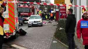 Car deliberately rams carnival crowd in Volkmarsen, Germany — children among wounded