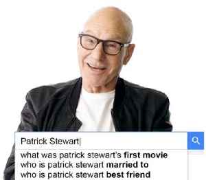 Patrick Stewart Answers the Web's Most Searched Questions [Video]