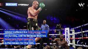Deontay Wilder Confirms Third Tyson Fury Fight and Blames Loss on Costume [Video]
