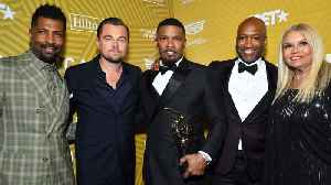 Leonardo DiCaprio surprises Jamie Foxx at American Black Film Festival Honors [Video]
