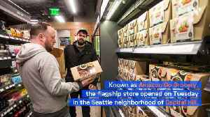 Amazon Opens a Full-Size, Cashier-less Grocery Store [Video]