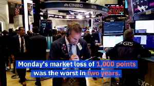 Two Day Stock Market Plunge Exceeds 1,900 Points on Coronavirus Fears [Video]