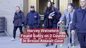 Harvey Weinstein Is Guilty [Video]