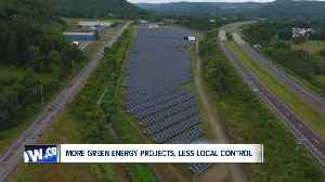 Governor's proposal would mean more green energy projects, less local control [Video]