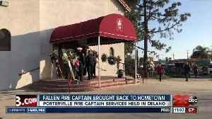 Emotional service held for fallen Porterville Fire Captain [Video]