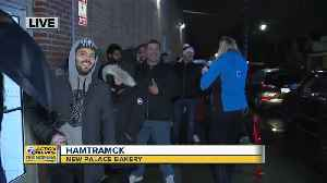 Dozens line up outside New Palace Bakery for Paczki Day [Video]