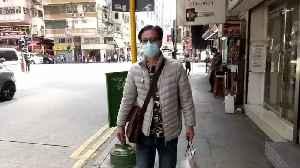 Hong Kong's 'coffin home' dwellers stuck inside amid coronavirus outbreak [Video]
