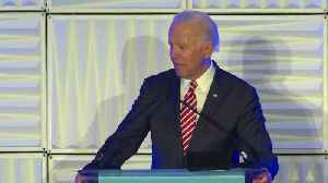 Biden accidentally tells crowd he's a Democratic candidate for United States Senate [Video]