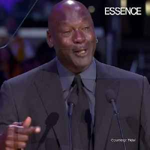 Michael Jordan Speaks about Becoming Another Meme at Kobe and Gianna's Memorial [Video]
