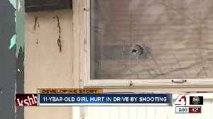 11-year-old girl hurt in drive-by shooting [Video]