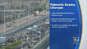 Plan To Ease Palmetto Expressway Traffic Congestion Revealed [Video]