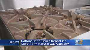 National Grid Issues Report On Long-Term Natural Gas Capacity [Video]