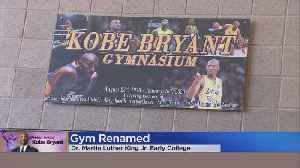 Martin Luther King Jr. Early College To Rename Gym In Honor Of Kobe Bryant [Video]