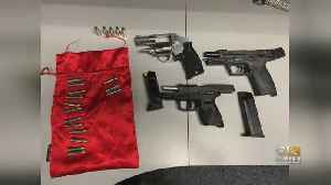 Trio Charged With Weapons Violations After Police Respond To Shots Fired Call In Aberdeen [Video]