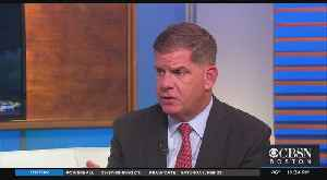 Mayor Walsh On Recent Violence, Democratic Race For President [Video]
