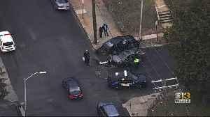 Driver Arrested After Crash In West Baltimore [Video]