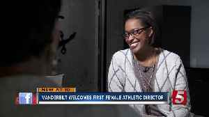 Vanderbilt University making history with first female athletic director [Video]