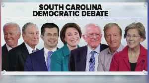 Previewing The South Carolina Democratic Debate [Video]