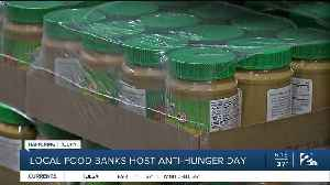 Local food banks host Anti-Hunger Day [Video]