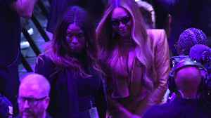 Beyonce and Alicia Keys perform at Kobe Bryant's memorial