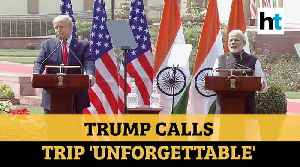 PM Modi, 'friend' Donald Trump announce $3 bn defence deal, invoke Pak terror [Video]