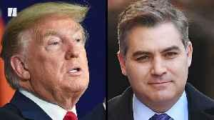 Trump Spars With CNN's Acosta — Again [Video]