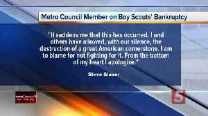 Metro council member Steve Glover facing criticism for social media post on Boy Scouts [Video]