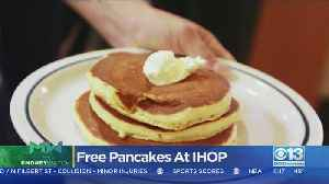 Moneywatch: Free Pancakes At IHOP [Video]