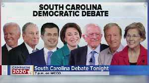 South Carolina Democratic Presidential Debate Tonight [Video]
