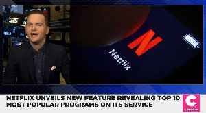 Netflix Unveils New Feature Revealing Top 10 Trending Programs [Video]