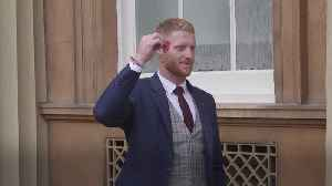 England Cricket World Cup winners honoured at Buckingham Palace [Video]