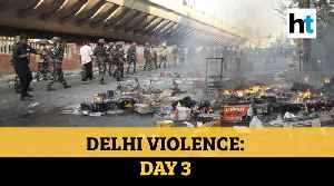 Fresh violence in Delhi: Stone pelting, arson & firing, day after 7 deaths [Video]