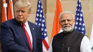 Late Night Hosts Laugh About Trump In India [Video]