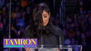 Vanessa Bryant Gives Tearful Tribute To Husband Kobe & Daughter Gianna [Video]