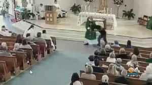 Pompano Beach Church Deacon Attacked During Service [Video]