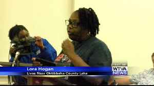 Residents near the Oktibbeha county lake dam voice concerns over the dam's safety [Video]