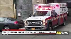 WEINSTEIN HOSPITAL AFTER GUILTY [Video]