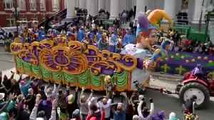 Let The Good Times Roll! Mardi Gras Underway In New Orleans [Video]