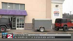 All Seasons Outfitter to open in New Hartford [Video]