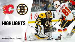 NHL Highlights | Flames @ Bruins 2/25/2020 [Video]
