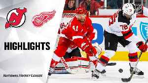 NHL Highlights | Devils @ Red Wings 2/25/2020 [Video]